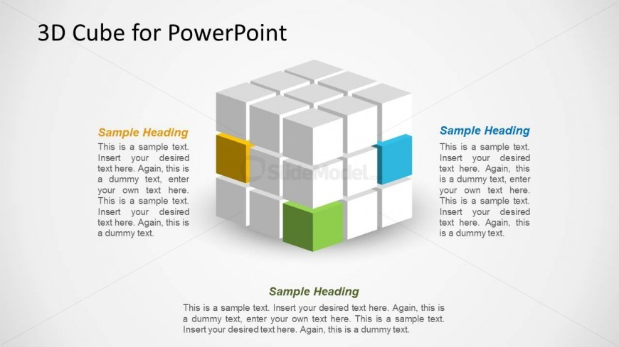 3D Cube Design for PowerPoint - SlideModel