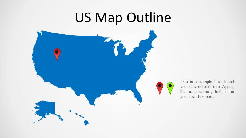 North America Maps for PowerPoint