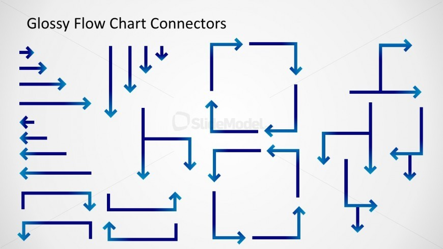 Flow Chart Connectors for PowerPoint - SlideModel - decision chart template