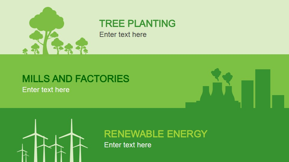 Animated Eco-Friendly PowerPoint Template - SlideModel - recycling powerpoint templates
