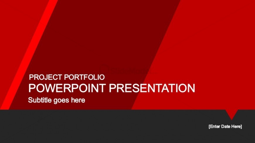 Red PowerPoint Background Template - SlideModel