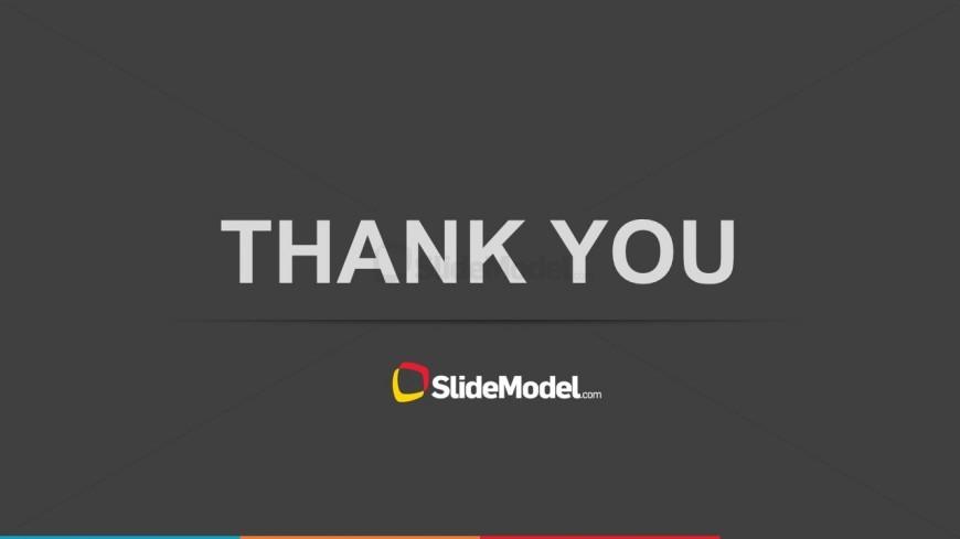 Simple Thank You Slide Design for PowerPoint - SlideModel