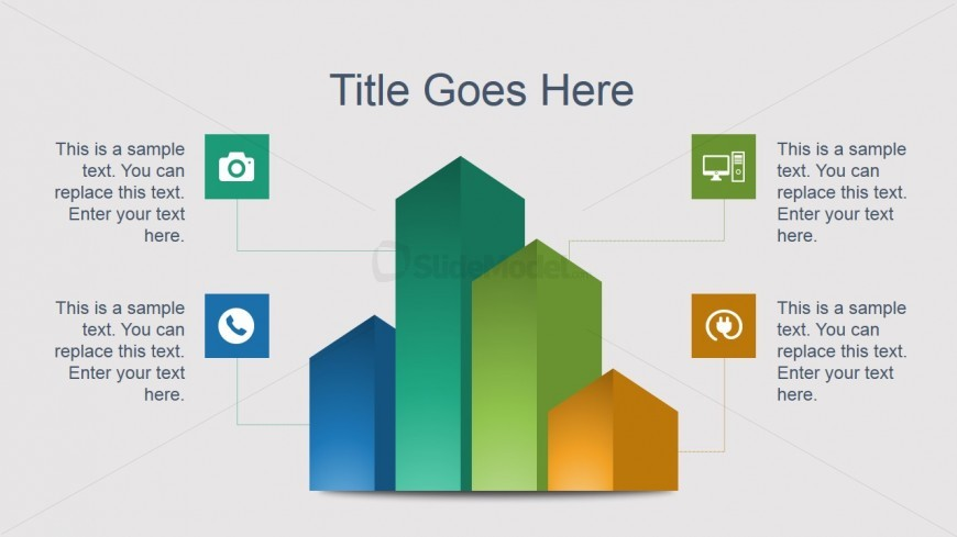Creative Bar Chart PowerPoint Slide Design - SlideModel