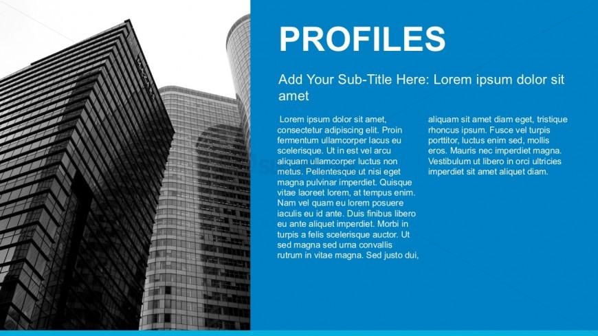Editable Company Profile PowerPoint Template - SlideModel