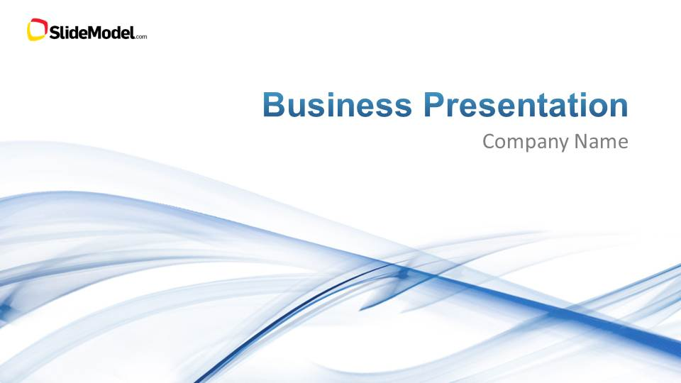 Light Business PowerPoint Template - SlideModel