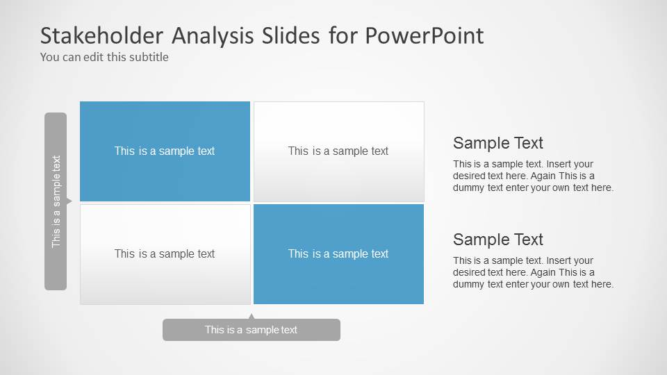 Stakeholders Analysis Slides for PowerPoint - SlideModel