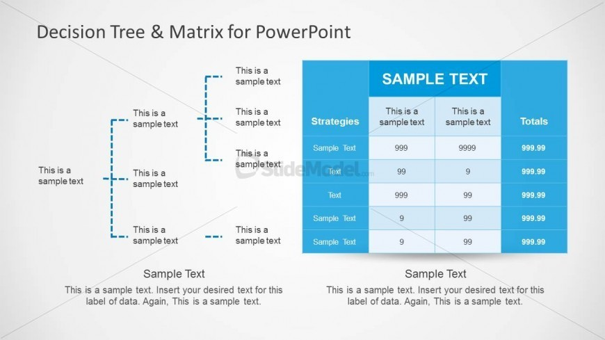 Decision Tree Matrix for PowerPoint Presentations - SlideModel