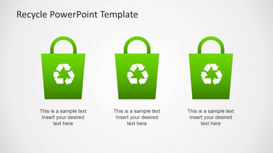 Trash PowerPoint Templates - recycling powerpoint templates