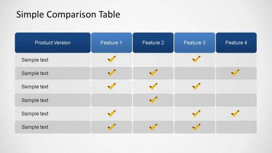Benchmark Powerpoint Templates