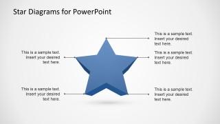 3d stars template for powerpoint slidemodel