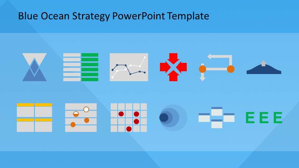 Blue Ocean Strategy PowerPoint Template - SlideModel