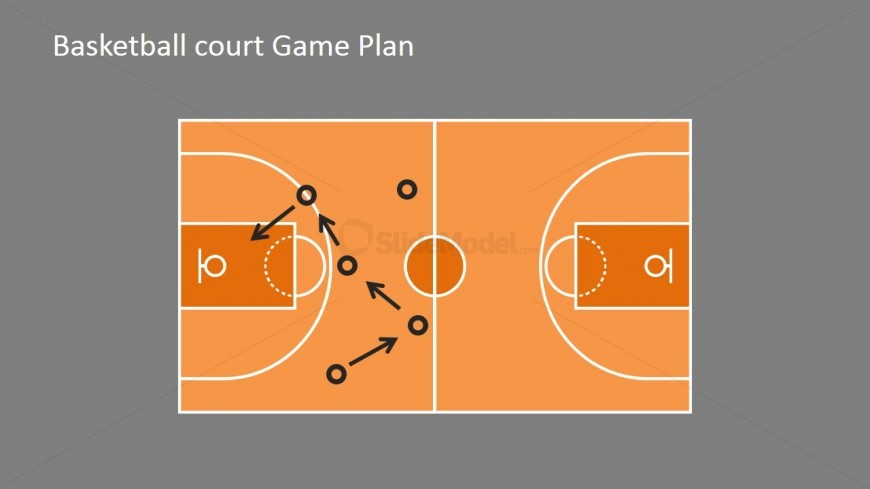 No boots in the ground - Wonu0027t Make Us Win - SlideModel - basketball powerpoint template