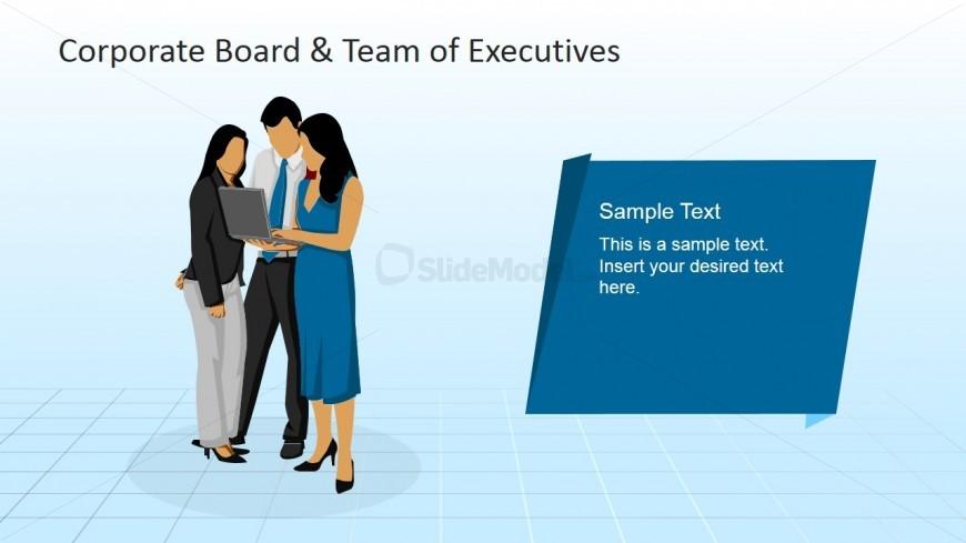 Corporate Teamwork PowerPoint Scene - SlideModel - teamwork powerpoint