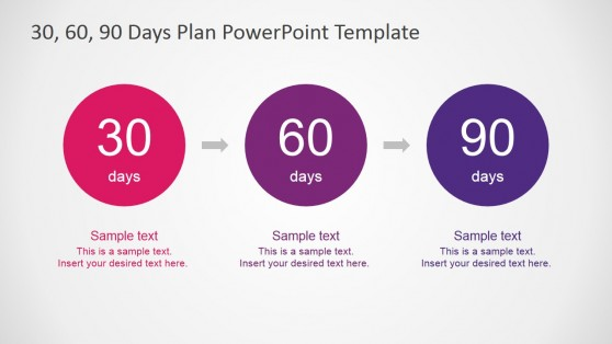 30-60-90 PowerPoint Templates