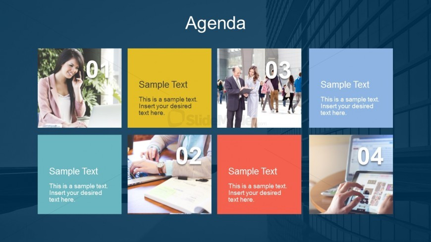Meeting Agenda Slides For Business PowerPoint - SlideModel - power point agenda slide
