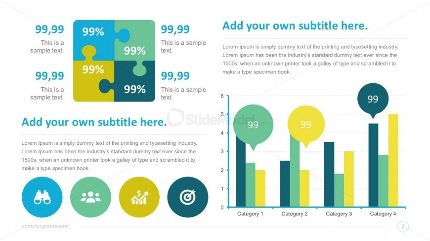 Smart Charts Infographics PowerPoint Template - SlideModel - smartart powerpoint template