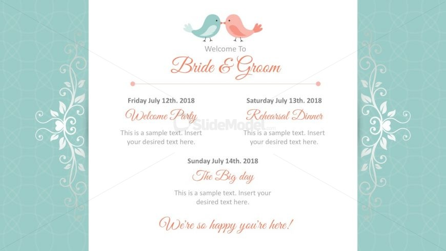 Wedding Invitation PowerPoint Template - SlideModel - wedding template