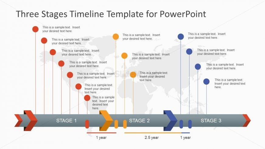 Project Timeline Three Stages - SlideModel - project timelines