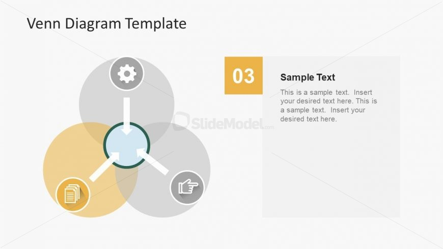 Simple Design of Venn Diagram Template - SlideModel