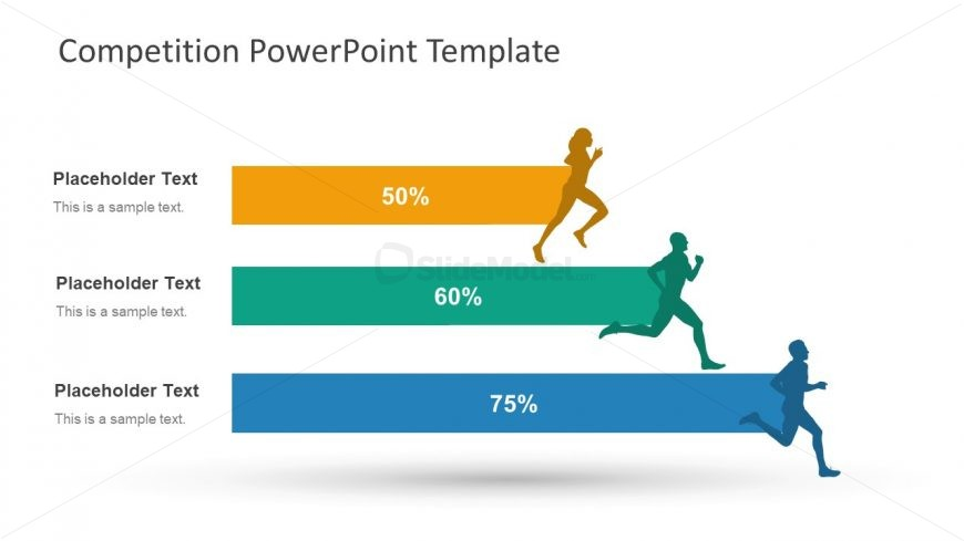 3 Bars PowerPoint Competition - SlideModel