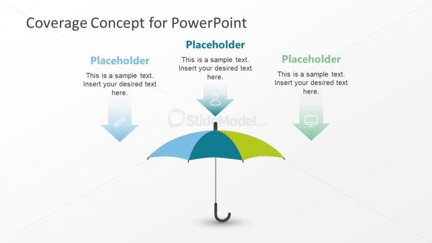 Umbrella Template PowerPoint Diagram - SlideModel