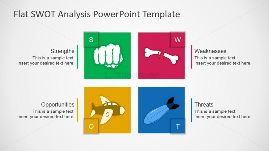 Free SWOT PPT Template - SlideModel - free swot analysis template