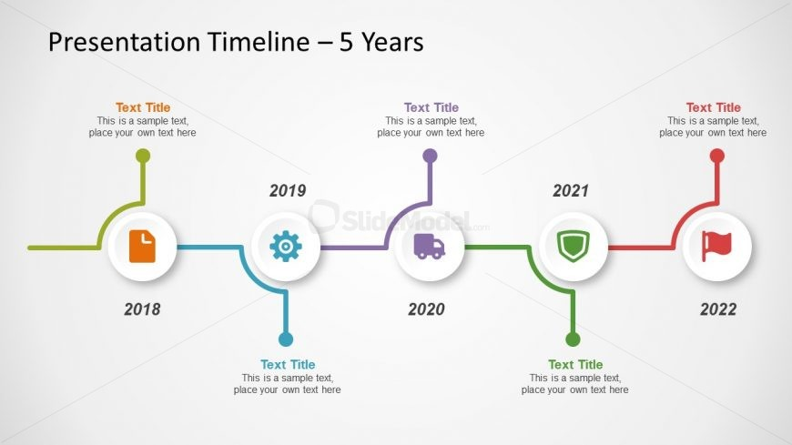 Free Template of Timeline Diagram - SlideModel