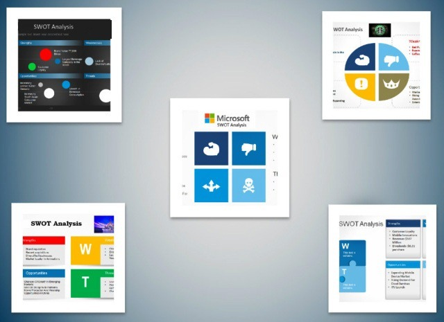 Best SWOT Analysis Templates For PowerPoint - microsoft swot analysis template