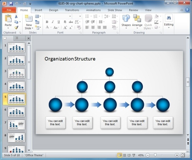 Different Types Of Organizational Structures And Charts - basic organization chart