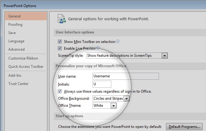 How To Change Author Name in PowerPoint 2013 - SlideModel