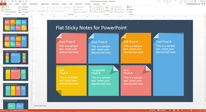 How To Add Custom Sticky Notes to PowerPoint Presentations - SlideModel