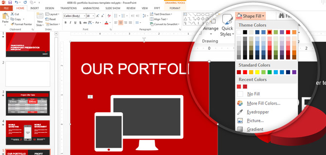 How To Make PowerPoint Themes with a Custom Color Palette - SlideModel