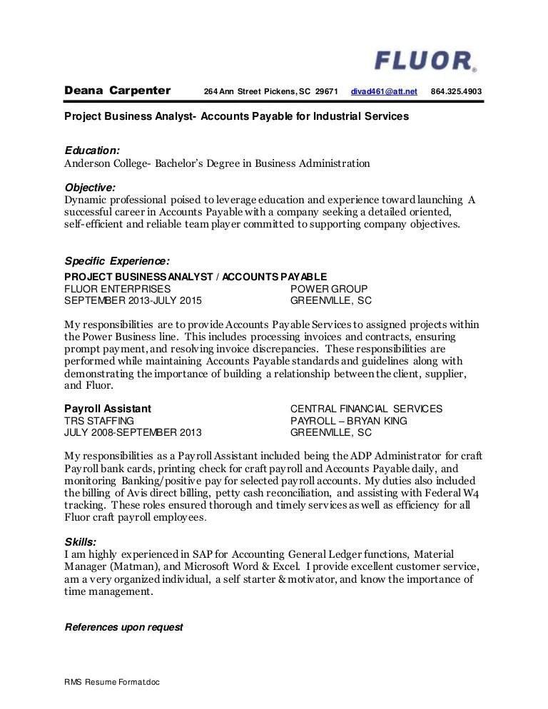 finish carpenter resume - Yenimescale - carpenters resume