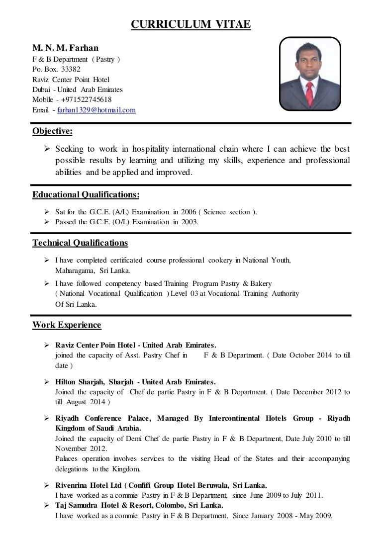 cv powerpoint original