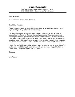 Stunning Tractor Trailer Driver Cover Letter Contemporary ...
