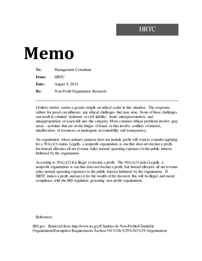 how to write a memo to employees sample