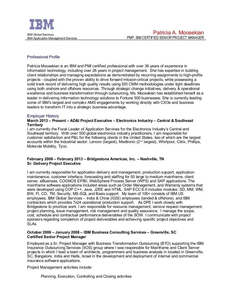 resume of sap bo consultant
