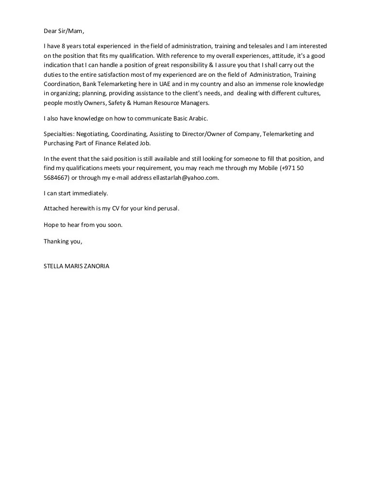 telemarketing cover letter - Leonescapers