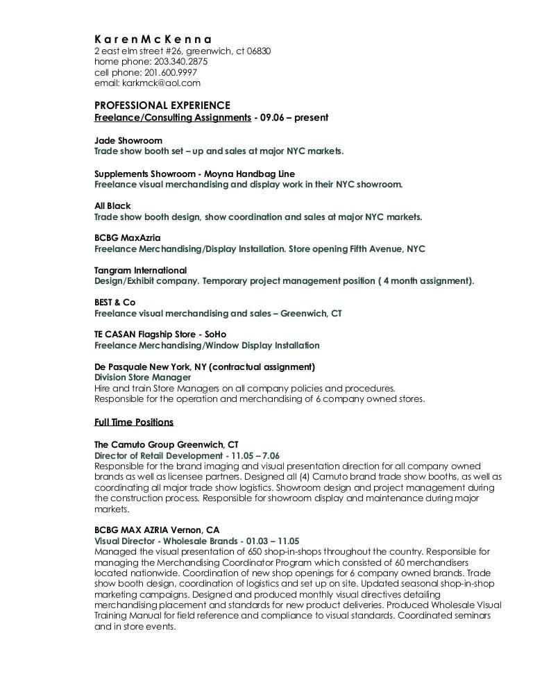 regional visual merchandiser resume - Funfpandroid