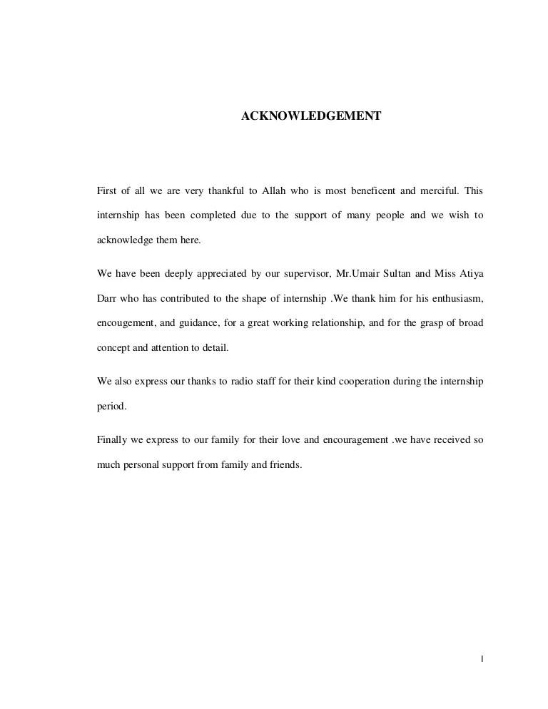 Acknowledgement Report Sample kicksneakers