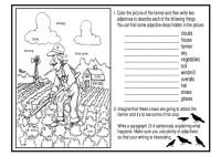All Worksheets  Picture Description Worksheets For Grade ...