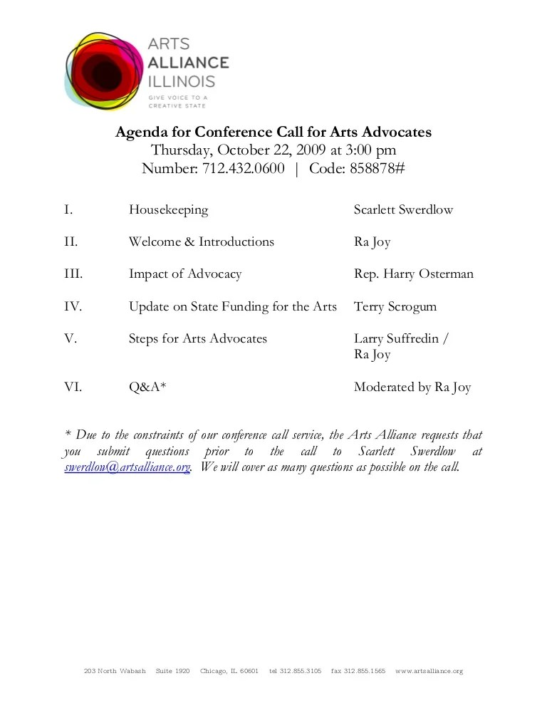 call agenda template - Minimfagency - conference schedule template