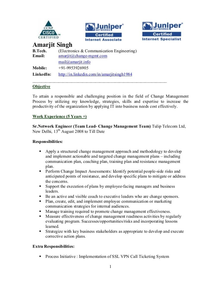 sample resume for telecom engineer - Minimfagency - sample engineering management resume