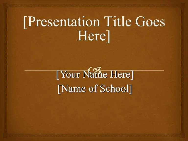 apa powerpoint title page