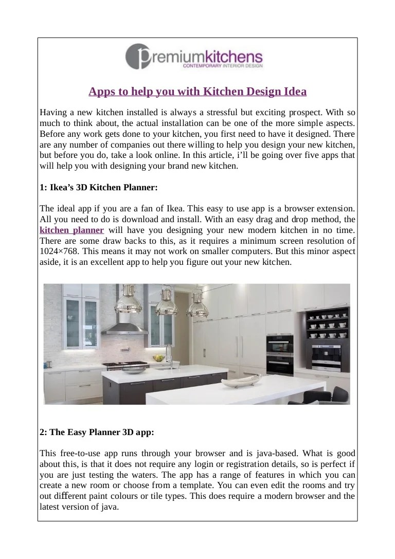 Homestyler Free Kitchen Design Software Apps To Help You With Kitchen Design Idea