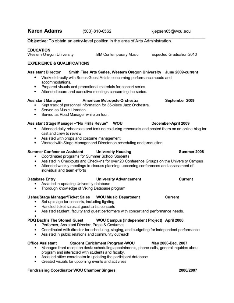 art administrator resume - Vatozatozdevelopment - art producer sample resume