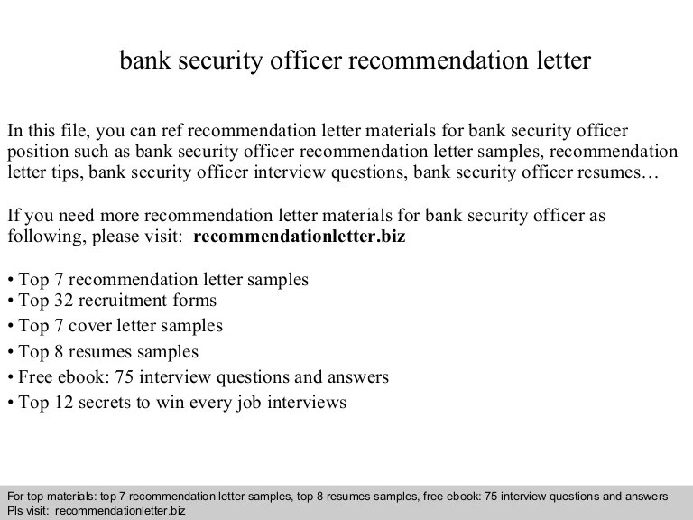 security guard recommendation letter sample - Onwebioinnovate - cia security guard sample resume