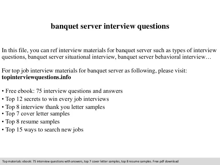 server job interview questions - Ozilalmanoof - interview questions for servers