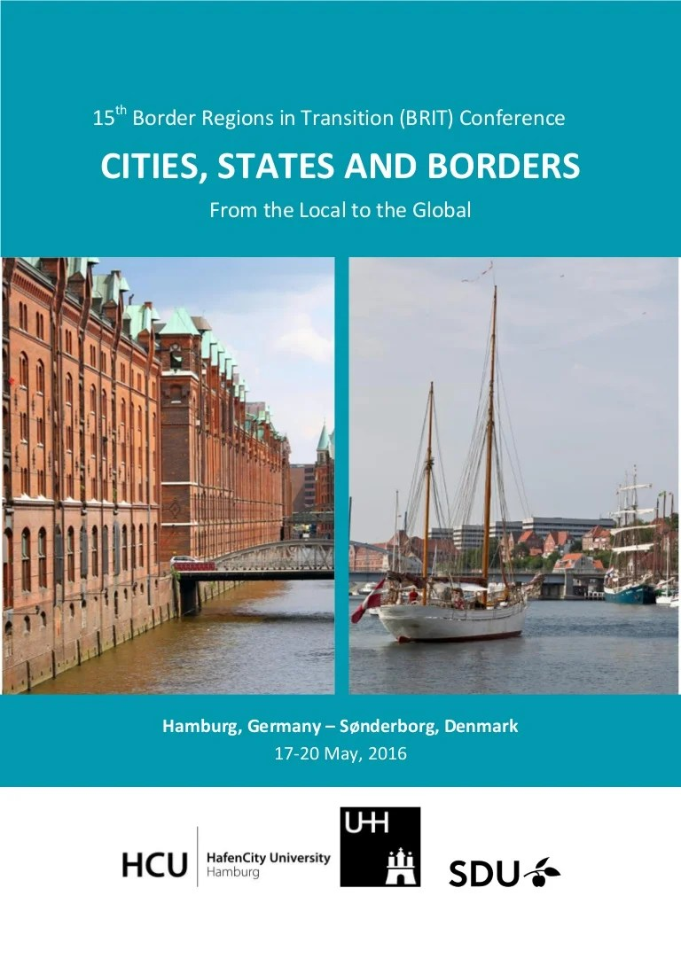 Cash Pool Flensburg 15th Border Regions In Transition Brit Conference Cities States A