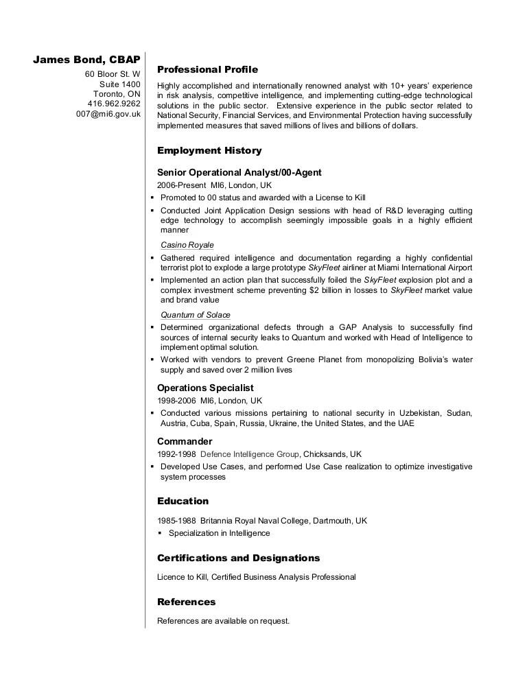 sql experience resume samples
